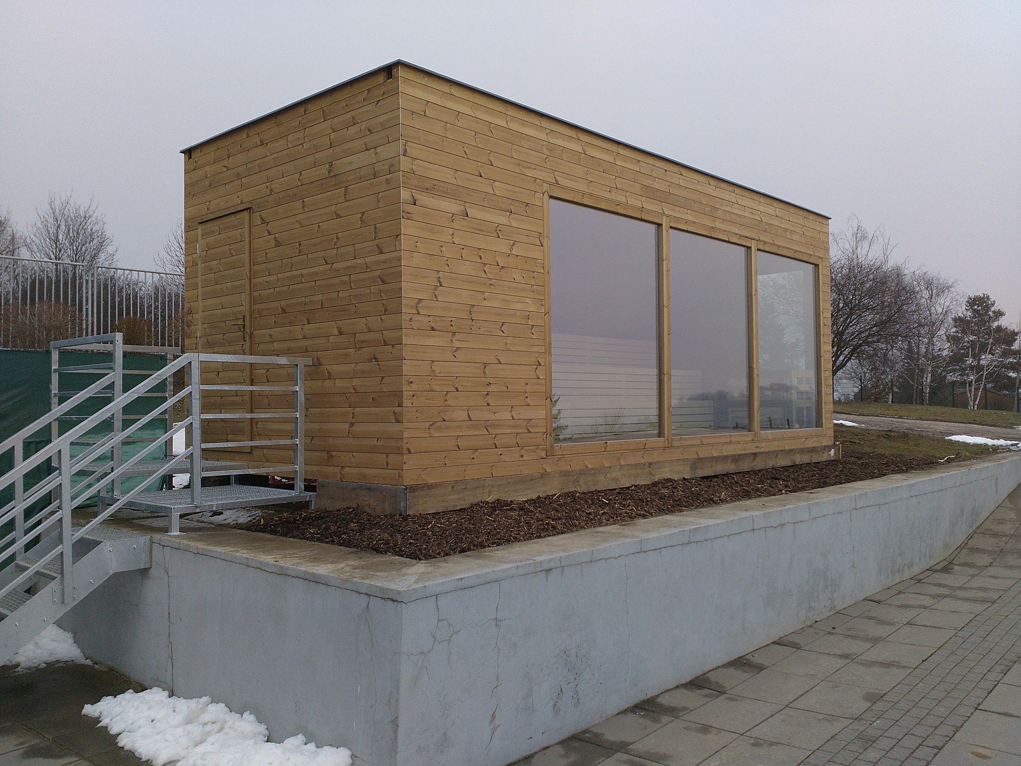 Od konce února je na Kraví hoře v provozu nová sauna.