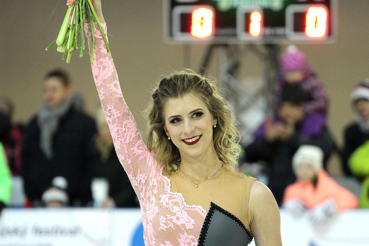 Eliška Březinová oslavila během Olympijského festivalu dvaadvacáté narozeniny.