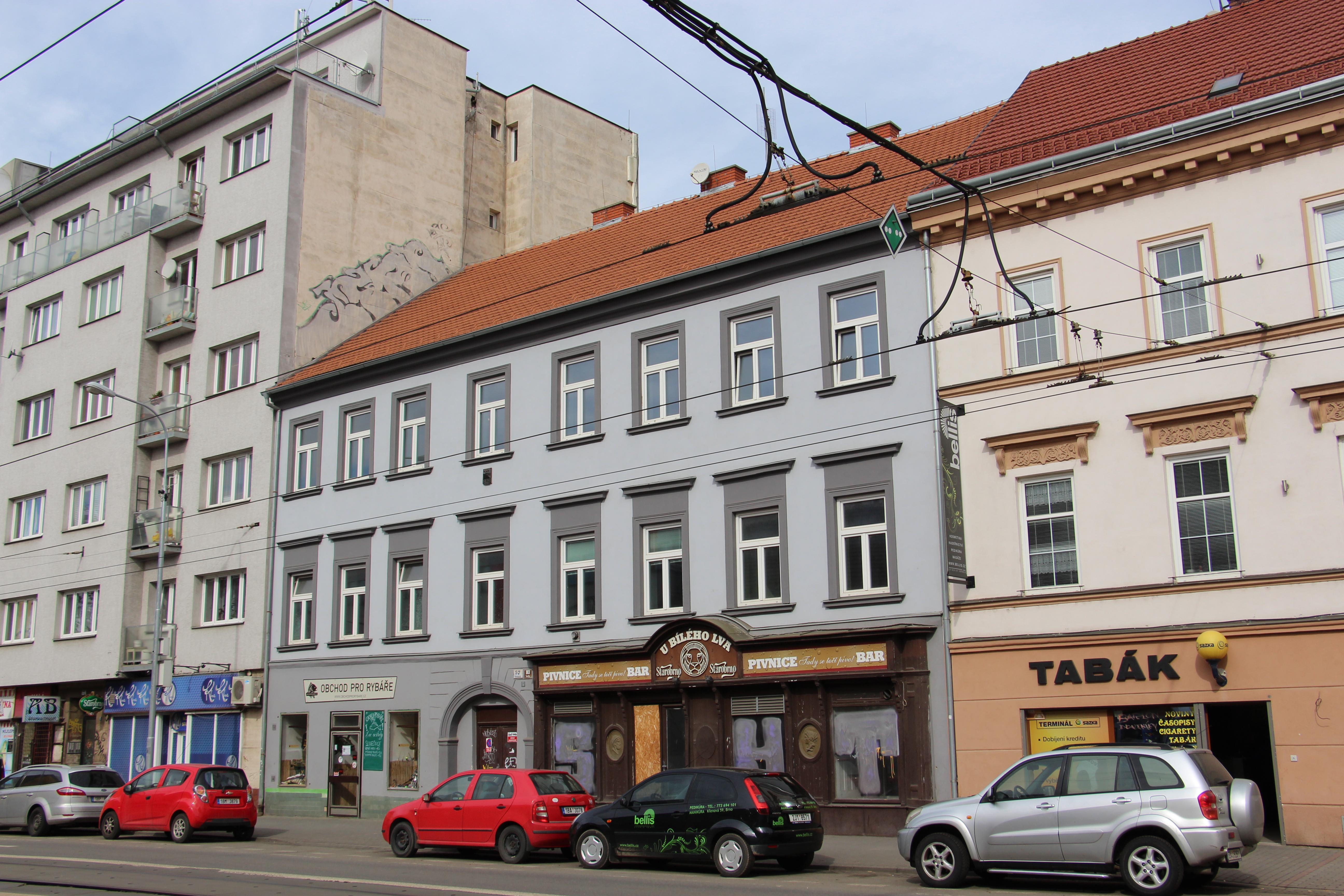 Dům pro potřeby projektu vyčlenila radnice městské části Brno-střed. Autor: Jan Jakovljevič