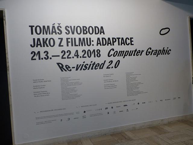 Tomáš Svoboda představuje výstavu Jako z filmu: Adaptace. Autor: Vojtěch Labuda.