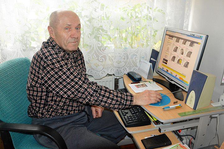 Senior Vladimír Přívara. Foto: Zuzana Vrbecká