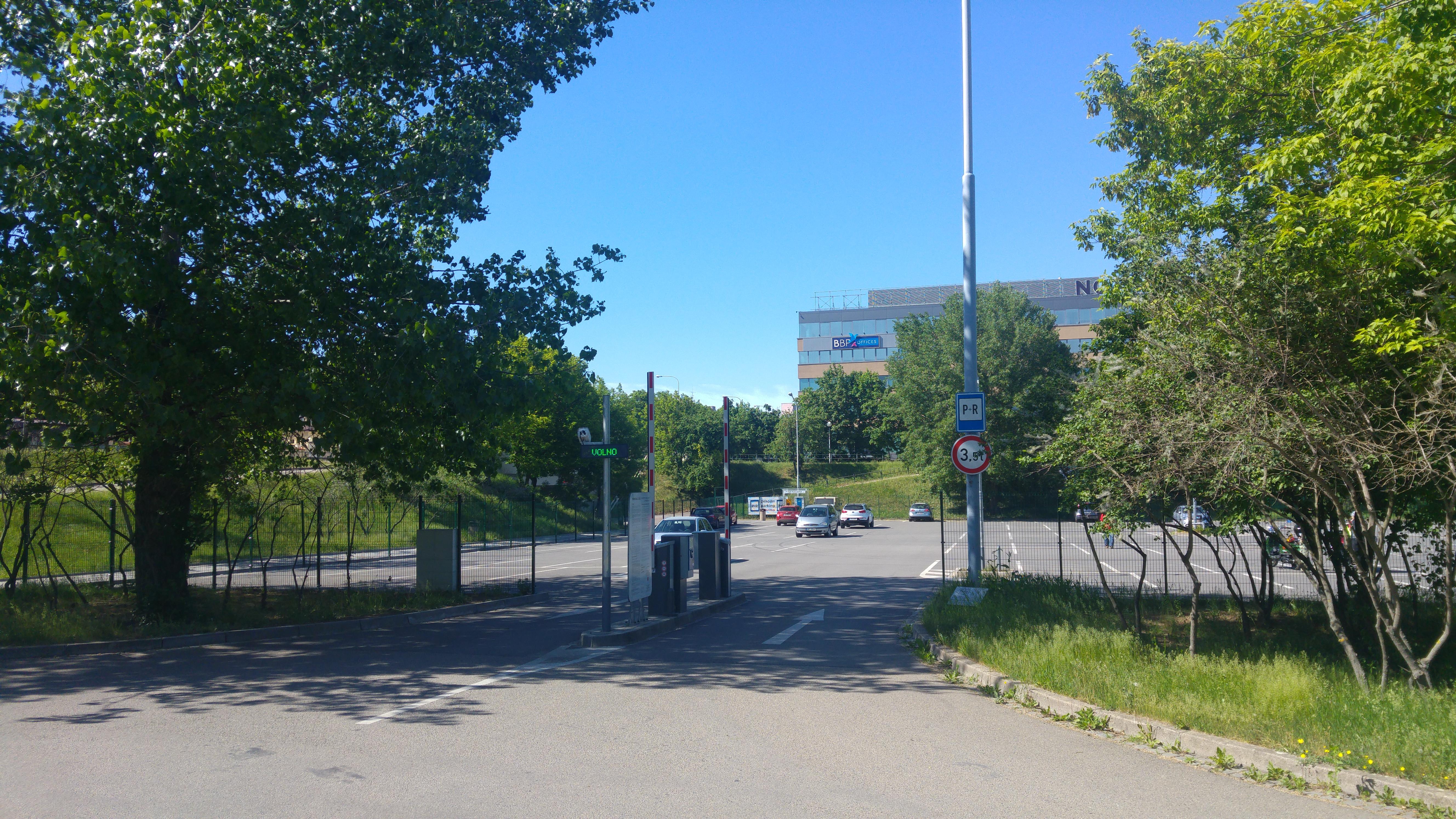 V Líšni u Zetoru vznikne nové parkoviště typu Park and Ride (ilustrační foto). Foto: Jan Jakovljevič