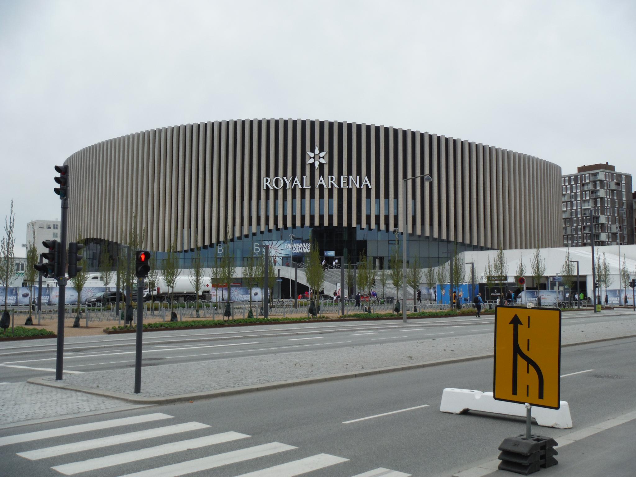 Kodaňská Royal Aréna se stala na mistrovství světa domovem českých hokejistů. Foto: Ondřej Zoubek