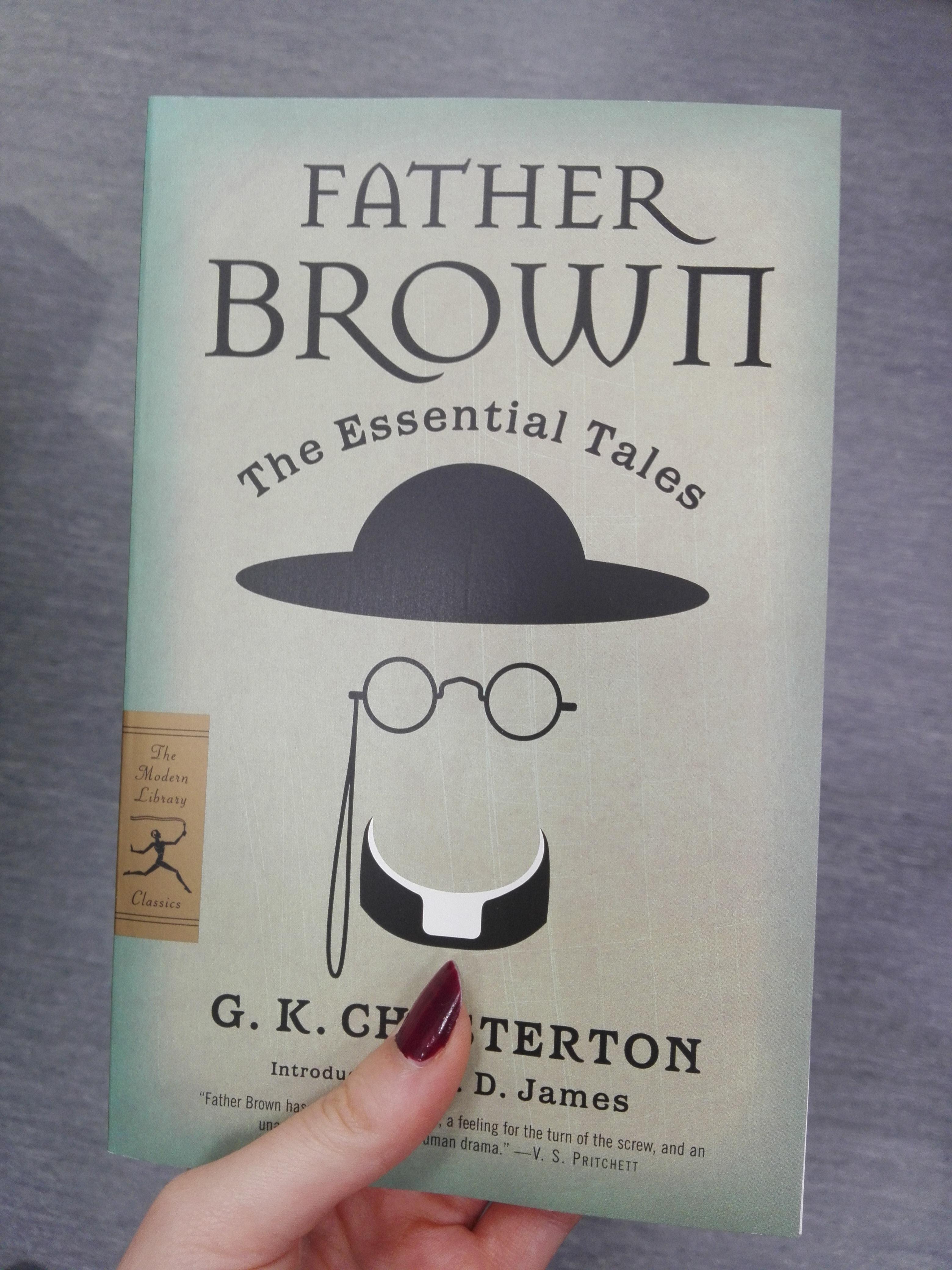 Ilustrační foto: Kniha Father Brown od Chestertona. Autor: Eliška Pavlíková