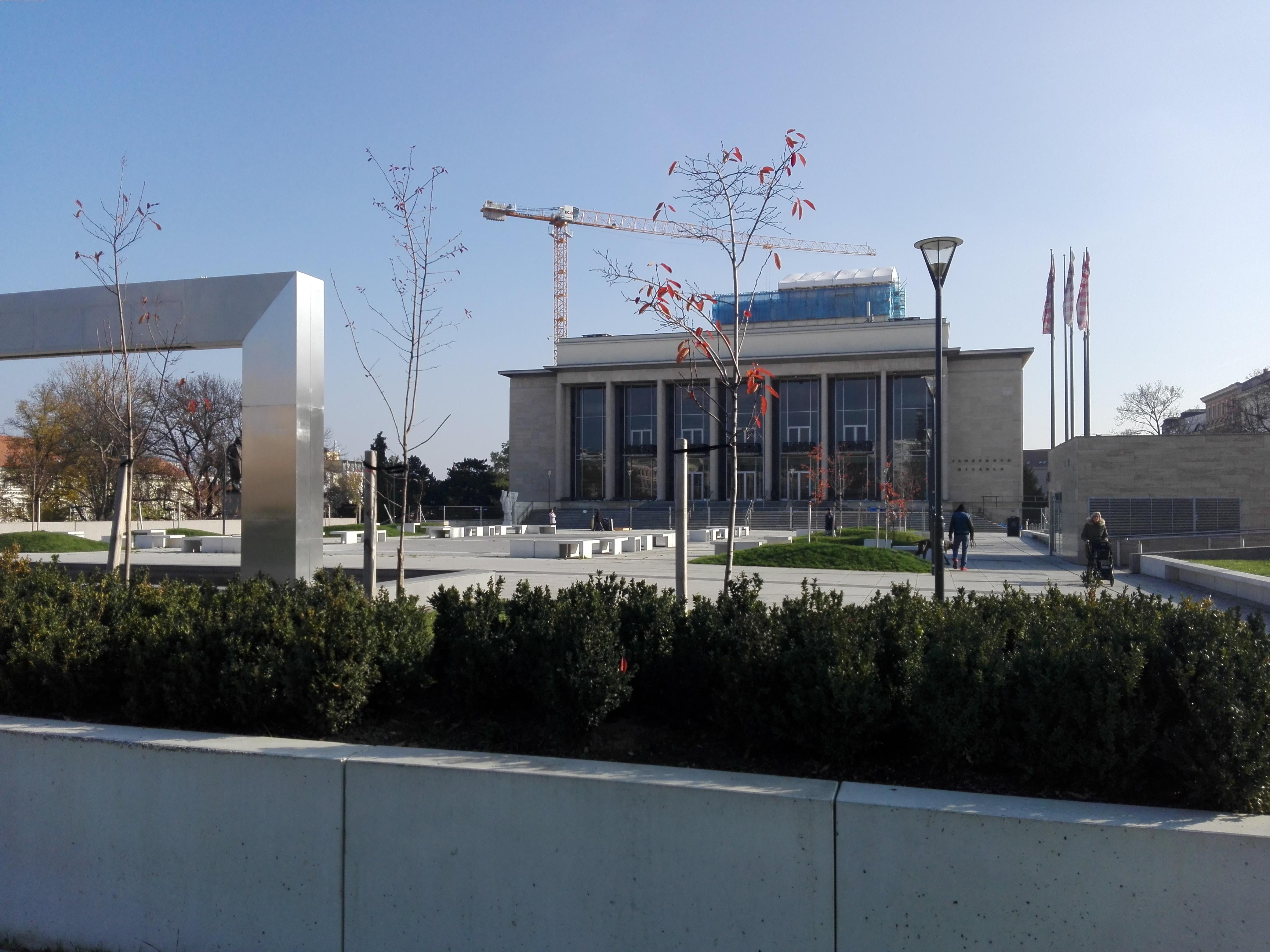 Ilustrační foto: Janáčkovo divadlo je uzavřeno kvůli rekonstrukci. Autor: Eliška Pavlíková