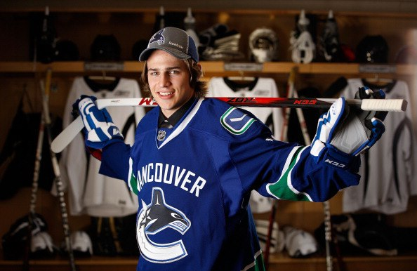 Alexandre Mallet was drafted by Vancouver Canucks but he has not played NHL game yet.