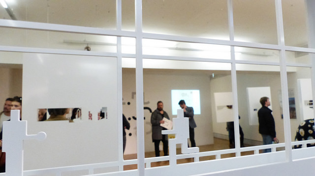 Vernisáž výstavy Mladí polští architekti 2.5D. Foto: Adéla Petřeková