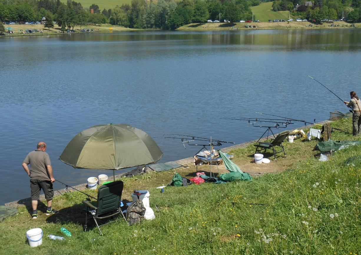 O jarní rybářské závody je zájem. FOTO: Dagmar Matulíková