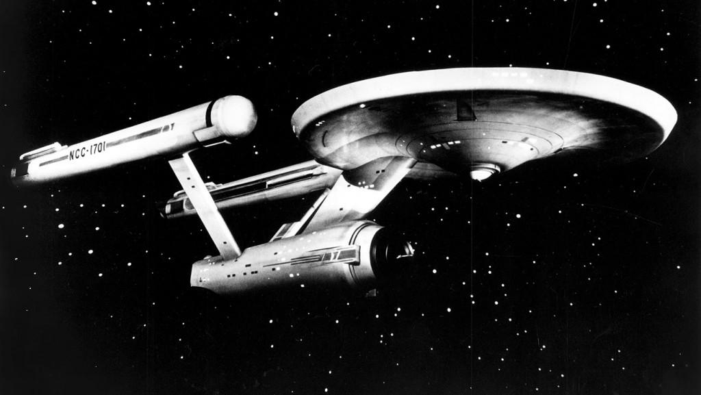 Star Trek (NBC) TV Series1966 - 1969Shown: The Starship Enterprise